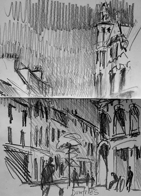 dumries sketch
